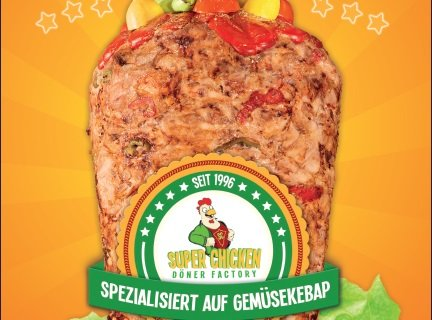 SUPER CHICKEN DÖNER FACTORY - GEMÜSEKEBAP